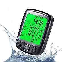 Meanhoo Digital Waterproof wire/wireless Bike Cycle Computer for Bicycle Camping, speedometer odometer for Merida giant Schwinn Huffy