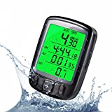 Bike Computer for Mens, 1Pcs Waterproof Road Bike Speedometer With Larger LCD Screen Display Electric Mountain Bicycle Odometer for Cycling Motorcycle, Cycling Electronics