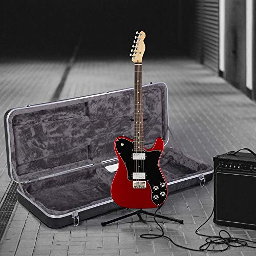 Yaheetech ABS Electric Guitar Case Elegant Hardshell Bass Case for Strat/Telecaster Style Flight with Lock Latch Keys Black by Yaheetech (Image #5)