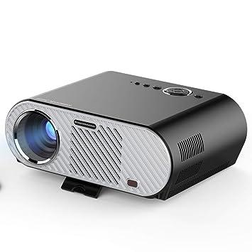 ZXYWW Proyector HD, Home Cinema Full HD 1080p Lúmenes Proyector de ...