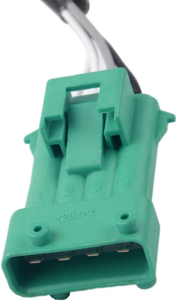 Nrpfell Car Oxygen Sensor Lambda Sensor O2 Exhaust Probe 4 Wire Fit for 1628.KN 1628KN 9636968780