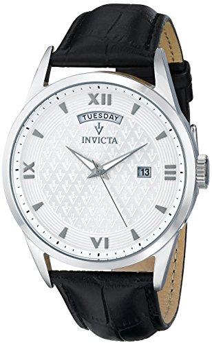 Invicta-Mens-12242-Vintage-Analog-Display-Swiss-Quartz-Black-Watch