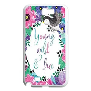 Young Wild and Free ZLB524121 Unique Design Case for Samsung Galaxy Note 2 N7100, Samsung Galaxy Note 2 N7100 Case