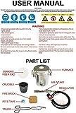 Beauty Life 0-28LBS(12.8KGS) Gas/Propane Melting
