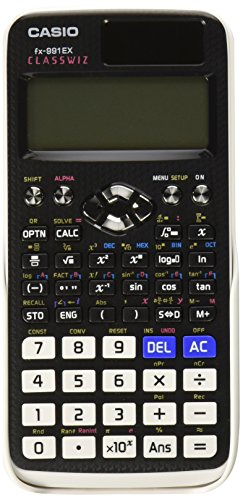 Casio FX-991EX Engineering/Scientific Calculator, Black