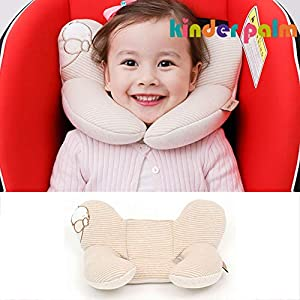 Head and Neck Support Baby Pillow L line Bear