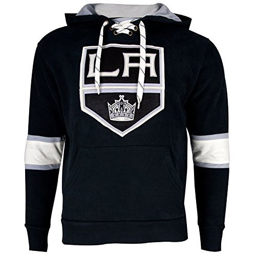 Los Angeles Kings - Logo Kinship Adult Pullover Hoodie - ()