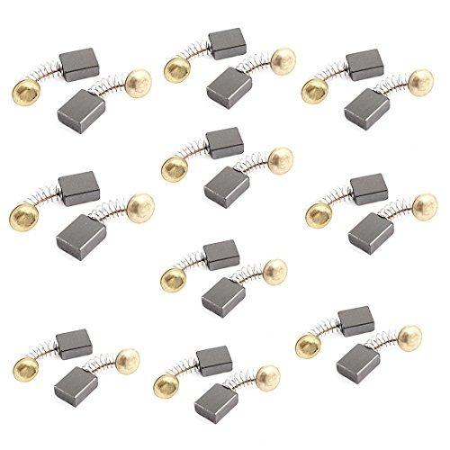 20 pcs 6 milímetros x 12mm x 16mm Spring Tipo Power Tool escovas de carvão