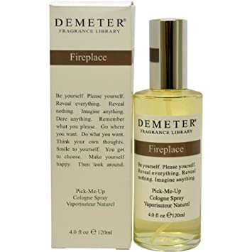Demeter Fireplace Cologne Spray for Women, 4 Ounce