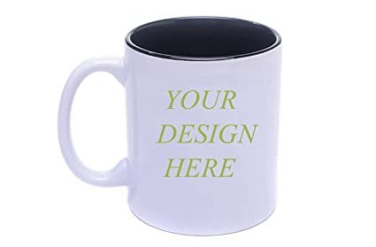amazon com diy personalized coffee mug add pictures logo or text