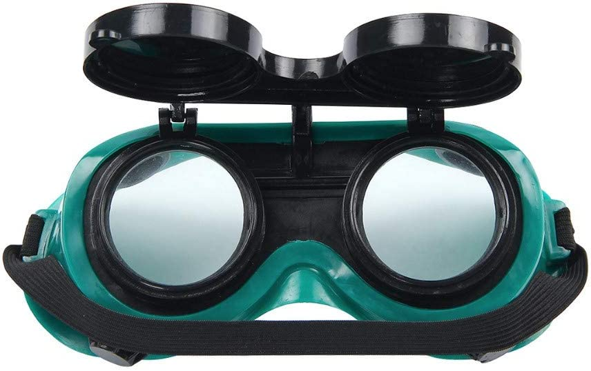 HOTEU Flip-Up Welding Grinding Goggles Eyes Protection Glasses Industrial Grade Brazing Glasses Auto Dark /& Clear Safety Lens Perfect for Oxy Acetylene Cutting Welding Brazing Project