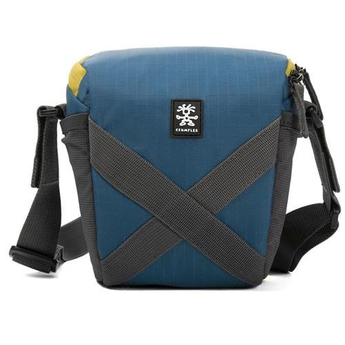 Crumpler Quick Delight Toploader 150 Universal Shoulder Bag for Camcorder/Bridge Camera, Sailor Blue by Crumpler