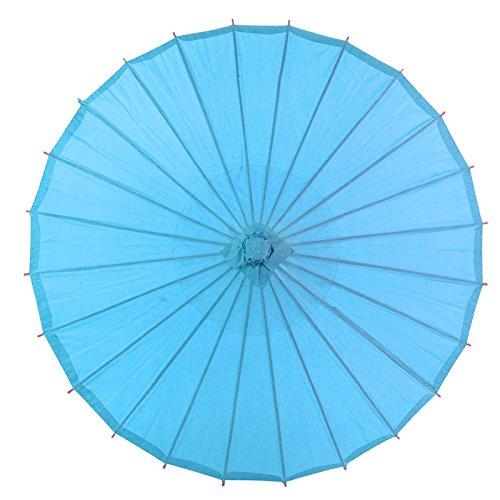 Quasimoon Turquoise Parasol Umbrella PaperLanternStore