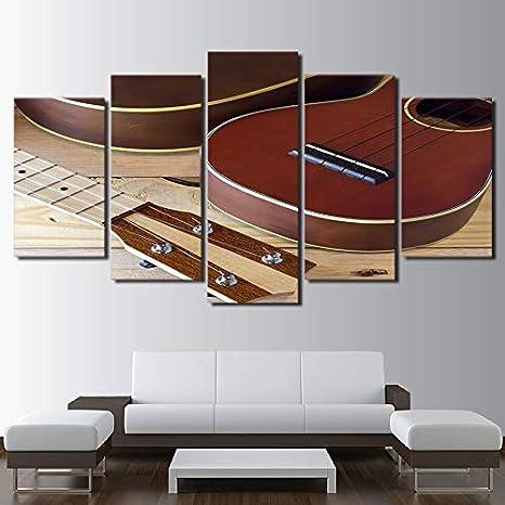 mmwin Decoración para el hogar Lienzo Salón HD Impreso Moderno 5 ...