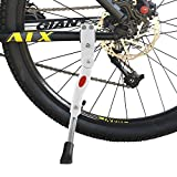 Bestgle Bicycle Adjustable Kickstand Aluminium Alloy Rear Mount Side Kick Stand Generic Support
