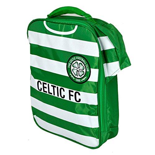 Celtic FC-Lunchtasche grün & weiß gestreift, offizielles Lizenzprodukt