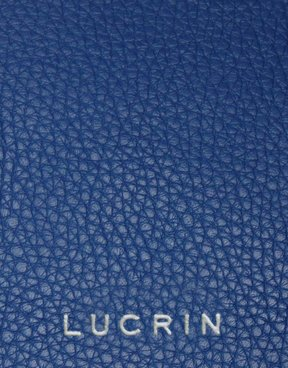 Lucrin - Classic Case for iPhone X - Royal Blue - Granulated Leather by Lucrin (Image #1)