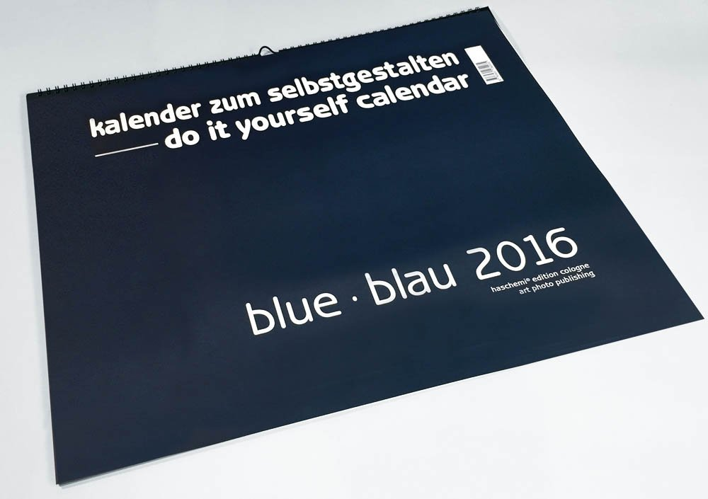 Blue blau 2018 blanko gross xl format blankokalender do it blue blau 2018 blanko gross xl format blankokalender do it yourself calendar bastellkalender gross xl format amazon baback haschemi solutioingenieria Choice Image