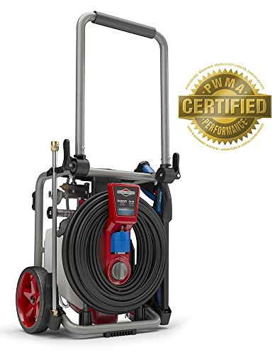 Briggs & Stratton 20667  Electric Pressure Washer 2000 PSI 3.5 GPM POWERflow+ Technology, 7-in-1 Nozzle, 25-Foot Hose & Detergent - Washers & Stratton Briggs