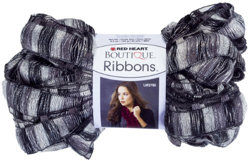 (Red Heart Boutique Ribbons Yarn, City)