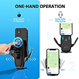 Wireless Car Charger Mount-Auto-Clamping Smart