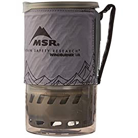 MSR WindBurner Stove Accessory Pot, 1.0-Liter