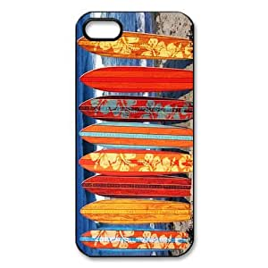 Cheap phonecase, Fashion sport, Cool surfboard picture for black plastic iphone 5,5s case