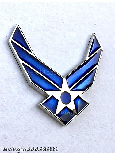 Car U.S.A Air Force Airman USAF Emblem Badge Decal For Toyota Jeep BMW All ()