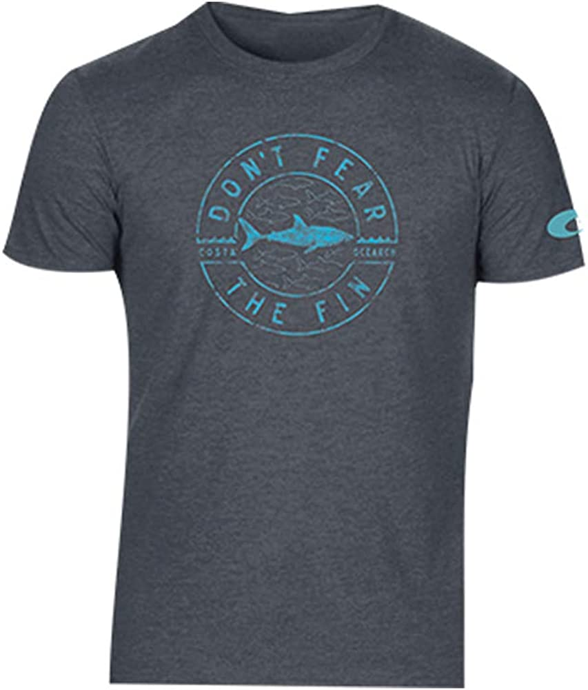 Costa Del Mar Mens Ocearch Marine Short Sleeve T-Shirt