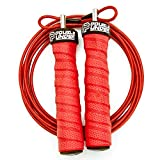 Jump Rope Workout System for Double Unders, 2 Cable Weights for Heavy