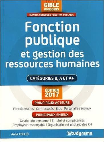 e2b8b3098f6 Amazon.fr - Fonction publique et gestion des ressources humaines - Anne  Collin - Livres