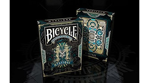 Playing Cards | Bicycle Mystique Playing Cards (Blue)| Custom Design | Collectable