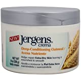 Jergens Body Cream Deep-Conditioning Oatmeal, 8 Ounce (Pack of 2) Review