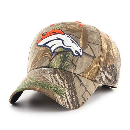 (NFL Denver Broncos Men's OTS All-Star Adjustable Hat, Hickory Realtree, One Size)