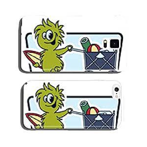 monsters on the beach cell phone cover case Samsung S6