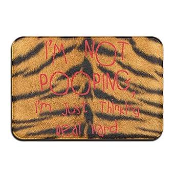 Cool Doormats Iu0027m Thinking Not Pooping Nice Personalized Door Mats Monogram  Doormat Non