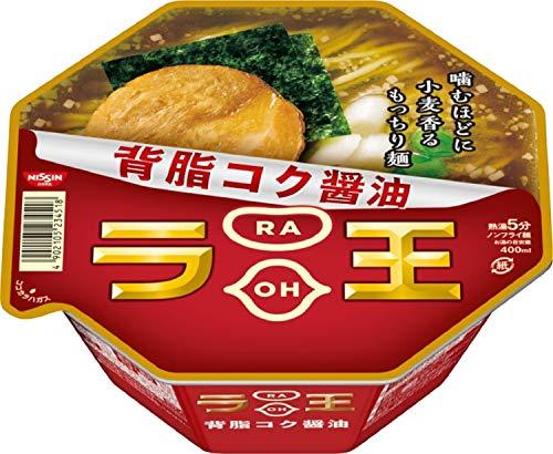 닛신 NISSIN 컵라면 닛신 라오 라왕 세아부라 코쿠 쇼유 컵라멘 115g×12개