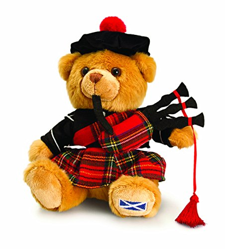 Keel Toys 19cm Scottish Piper Hug