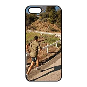 iPhone 5 5S Case, PC Material, Black color,iPhone 5 5S Cover Clear Black Back Bumper DIY Customization Fusion Hybrid Cover Shock Absorbent iPhone 5 5S Case, shatterproof and anti scratch material, iPhone 5 5S Case With It's the worst-kept secret in running by runtopwellby Maris's Diary