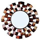 Cheap Home Source Industries 400-25973 Decorative Mirror, 32.48 by 32.48 by 1.18-Inch