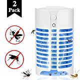 Aorecum Electric Indoor Bug Zapper,Mosquito Killer, Insect and Fly Zapper Catcher Killer Trap with UV Bug Light with Large Coverage 100% Safety for Home, Office and Patio Indoor use