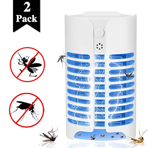 (Aorecum Electric Indoor Bug Zapper,Mosquito Killer, Insect and Fly Zapper Catcher Killer Trap with UV Bug Light with Large Coverage 100% Safety for Home, Office and Patio Indoor use)