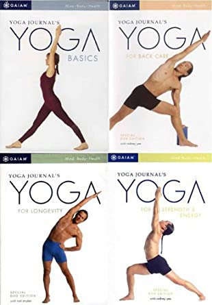 Amazon.com: Yoga Journals (4 Pack) Yoga for Back Care ...