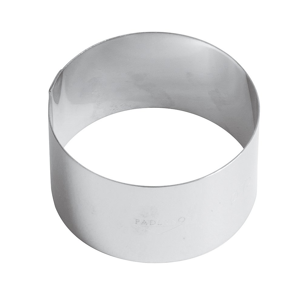 Paderno 47532-06 Foam Ring 6 Cm, Stainless Steel
