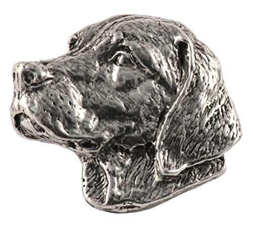 Labrador Dog Pewter Lapel Pin, Brooch, Jewelry, D112 (Labrador Jewelry Pin)