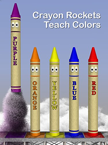 Crayon Rockets Teach Colors