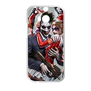The Joker Htc One M8 Cell Phone Case White DAVID-271580