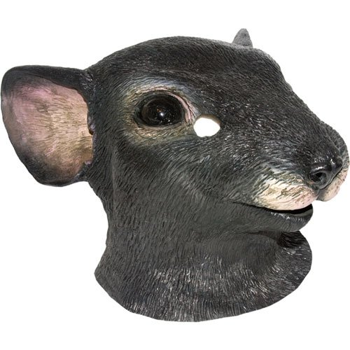Rat Face Costume (Dillon 18-8600M Mask Animal Mouse)