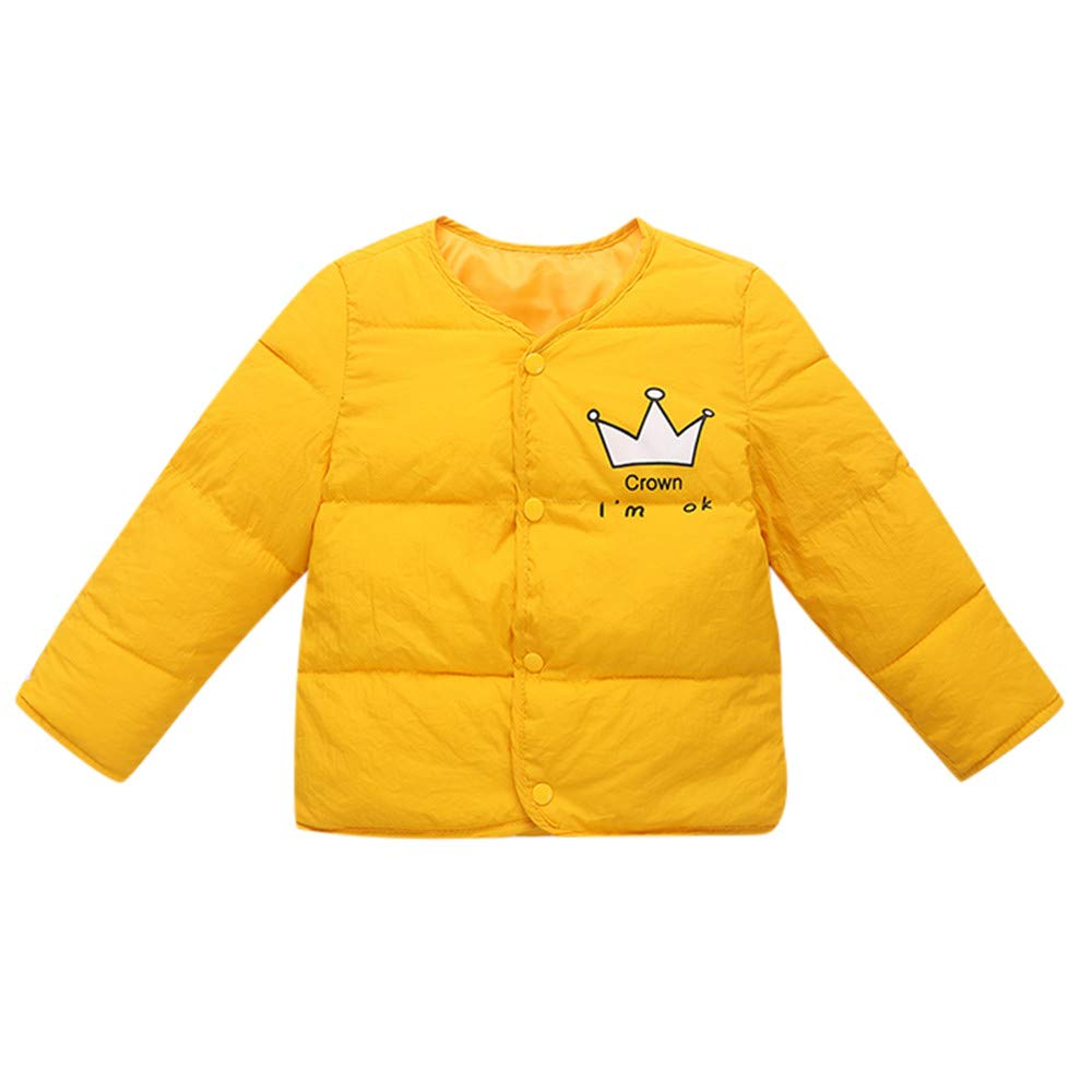 VEZAD Girl Winter Cartoon Coat Cloak Jacket Thick Warm Outerwear Clothes