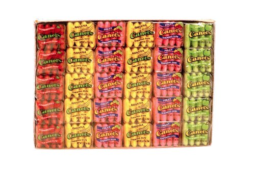 Canel Gum Fruit Tray Pack, 60 ct